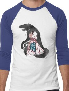 Taming of the wolf Men's Baseball ¾ T-Shirt