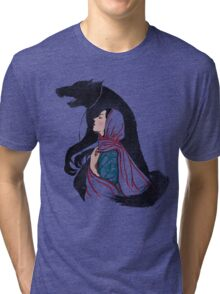Taming of the wolf Tri-blend T-Shirt