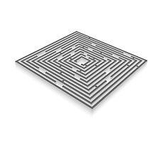maze - labyrinth Photographic Print