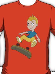 Skateboarder boy cartoon T-Shirt