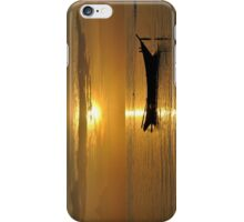 Sunset while chilling  iPhone Case/Skin