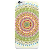 Bright Blessings Mandala  iPhone Case/Skin