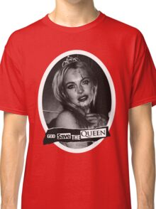 Lindsay Lohan 'God Save the Queen' Classic T-Shirt