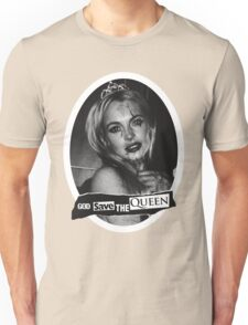 Lindsay Lohan 'God Save the Queen' Unisex T-Shirt