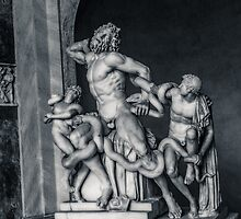 Laocoön and His Sons by AMazzocchetti
