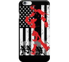 Roller Derby America Flag Phone Case, Stickers and more iPhone Case/Skin