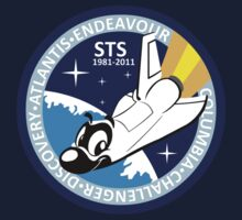 Space shuttle adventures - mission patch by karpour
