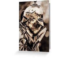 Armour plated Greeting Card