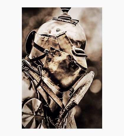 Armour plated Photographic Print