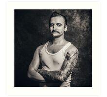Mustache III Art Print