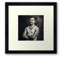 Mustache III Framed Print