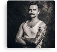 Mustache III Canvas Print