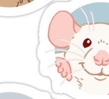 Rat stickers Sticker