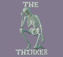 The Thinker .. tee shirt Kids Clothes