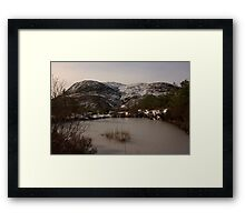 Croaghconnellagh In Snow Framed Print
