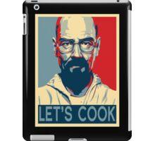 Walter White / Heisenberg - Let's Cook iPad Case/Skin
