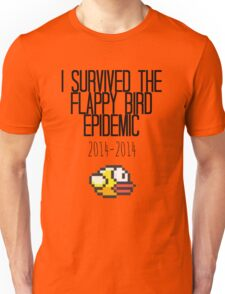 I Survived The Flappy Bird Epidemic Unisex T-Shirt