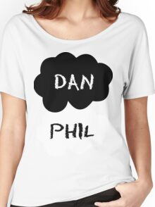 Dan & Phil - The Fault In Our Stars Women's Relaxed Fit T-Shirt