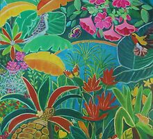 Tropical garden. by gloria47