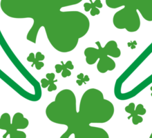 Happy Saint patrick days T-Shirts & Hoodies Sticker