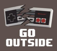 Go Outside (NES) by lavallelee
