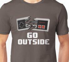 Go Outside (NES) Unisex T-Shirt