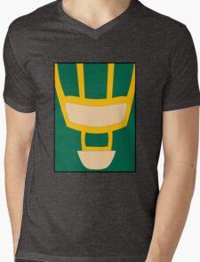 Kick Ass (minimal) Mens V-Neck T-Shirt