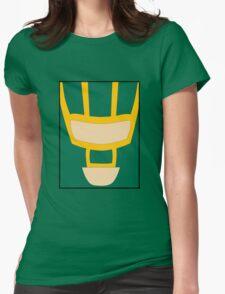 Kick Ass (minimal) Womens Fitted T-Shirt