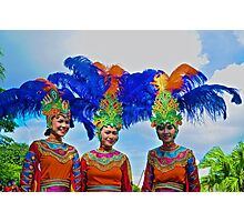 Traditional Dancers Photographic Print