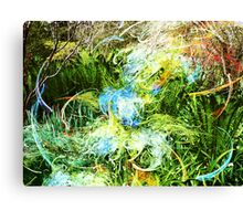 Spirit in a Fractal Garden Canvas Print