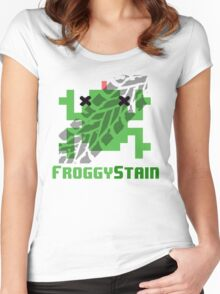 Froggystain Women's Fitted Scoop T-Shirt