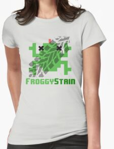 Froggystain Womens Fitted T-Shirt