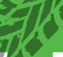 Froggystain Sticker