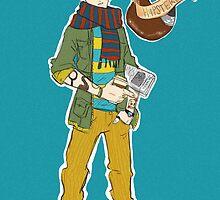 Hipsterlock: Sherlock Holmes  by Kenndalsales