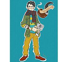Hipsterlock: Sherlock Holmes  Photographic Print