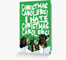 Gremlins alternative Christmas card Greeting Card