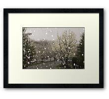 Lovely Rainy Day Framed Print