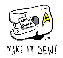 Make it Sew! Photographic Print