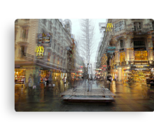 The Karntner Strasse Vienna  Canvas Print