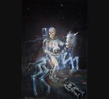 apocalyptic horseman on the moon - modern apocalypse Unisex T-Shirt