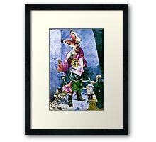 The Giant Slayer. Framed Print