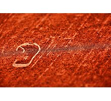 Tennis court Photographic Print