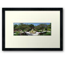 The Shakespeare Garden  Framed Print