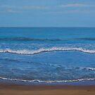 Gokarna ocean by Yuliya Glavnaya
