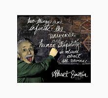 Albert Einstein on Chalkboard T-Shirt