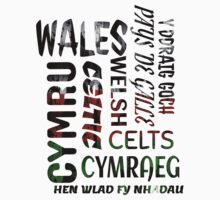 Welsh, Wales a proud nation T Shirt Kids Clothes