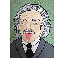 Smart Pants Einstein  Photographic Print