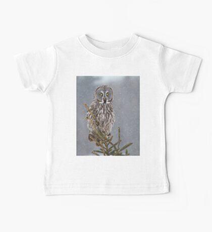 Pine Top - Great Grey Owl Baby Tee