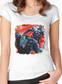 Mecha a troi Women's Fitted Scoop T-Shirt