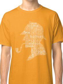 The canon of Sherlock Holmes word cloud Classic T-Shirt